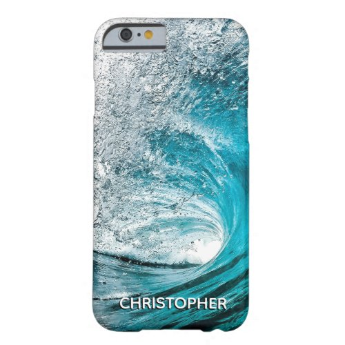 Big Ocean Wave Splash to Add your Name Phone Case