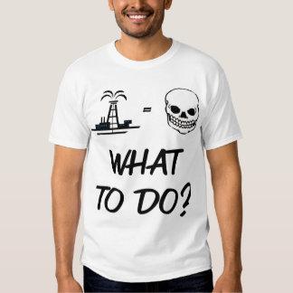 Big Oil -  Any Choices? Tee Shirt