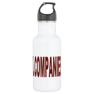 Big Oil Companies Suck Water Bottle