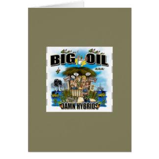 Big oil greeting card - Duck Blind