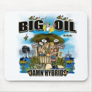 BIG OIL MOUSE PAD