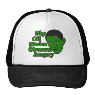 Big Oil Spill Make Obama Angry Trucker Hat