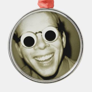 Big Ol Eyes Metal Ornament