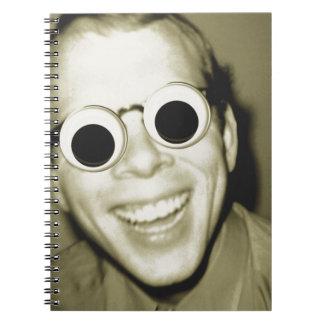 Big Ol Eyes Spiral Notebooks