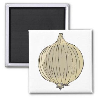 Big Onion 2 Inch Square Magnet