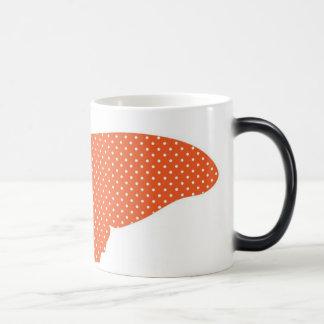 Big Orange and Yellow Butterfly Magic Mug