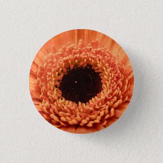Big Orange Gerbera Daisy Button