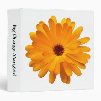 Big Orange Marigold (1.5in) Binder