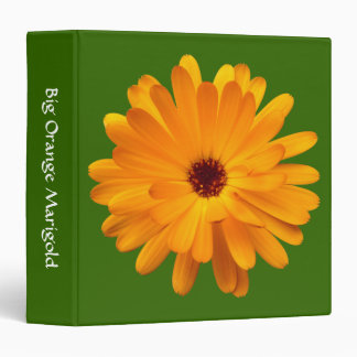 Big Orange Marigold (1.5in) - Green 336600 Binder