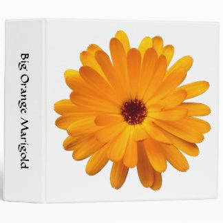 Big Orange Marigold (2in) Binder