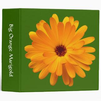 Big Orange Marigold (2in) - Green 336600 3 Ring Binder