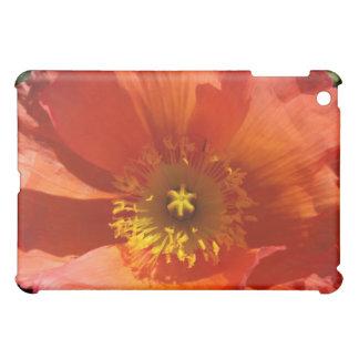 Big Orange Poppy iPad Mini Case