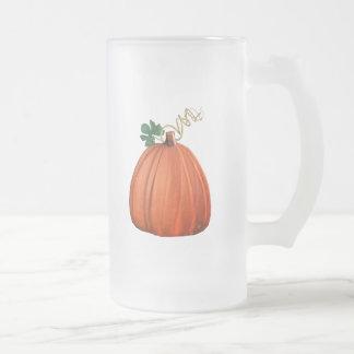 Big Orange Whimsical Pumpkin Coffee Mug