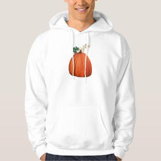 Big Orange Whimsical Pumpkin Hoodie