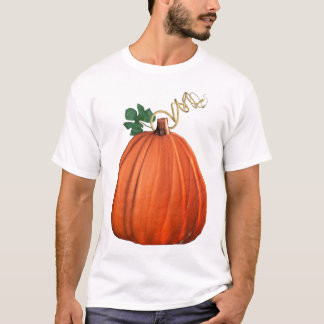 Big Orange Whimsical Pumpkin T-Shirt