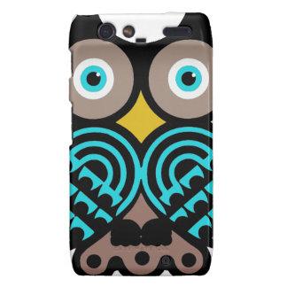 Big Owl Motorola Razr Phone Case Motorola Droid RAZR Case