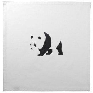 Big panda bear napkin