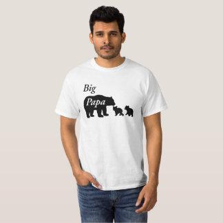 Big Papa Bear Family by Mini Brothers T-Shirt