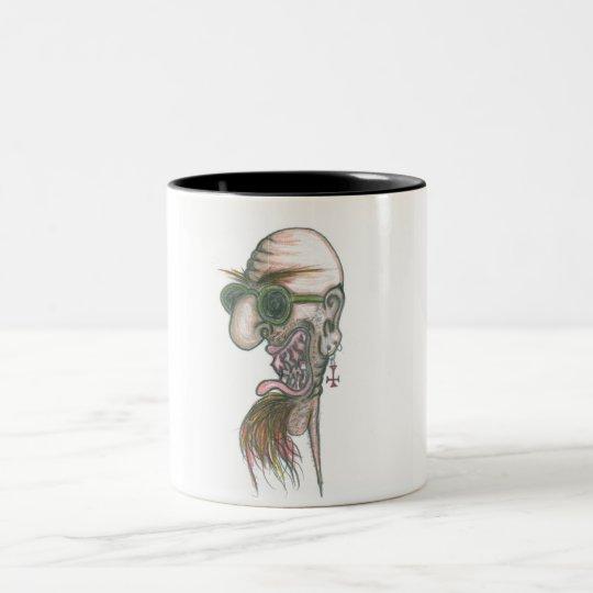 Big Papa Bonkers Two-Tone Coffee Mug