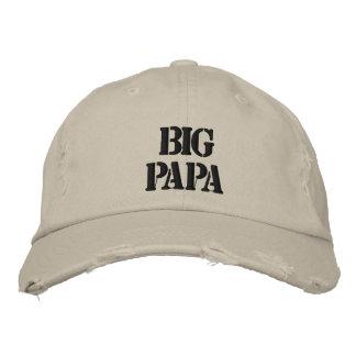 BIG PAPA! EMBROIDERED BASEBALL HAT