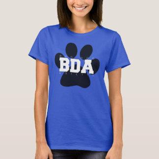 Big Paw, I <3 Naughty Dogs Back T-Shirt