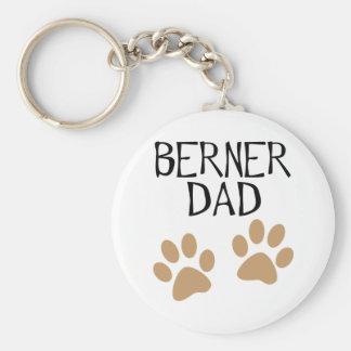 Big Paws Berner Dad Keychain
