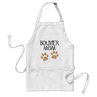 Big Paws Bouvier Mom Adult Apron
