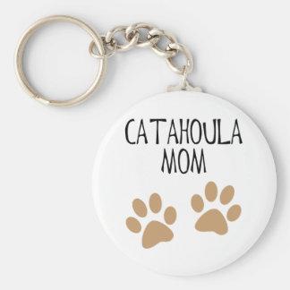 Big Paws Catahoula Mom Keychain