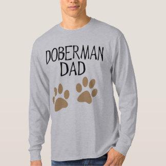 Big Paws Doberman Dad T-Shirt
