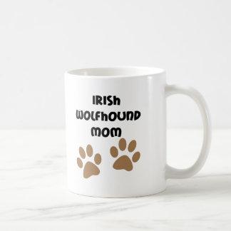 Big Paws Irish Wolfhound Mom Coffee Mug