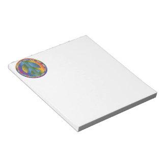 Big Peace Symbol Notepad