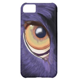 Big Penetrating Orange Eye on Blue Fur iPhone 5C Cover