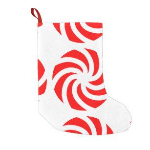 big peppermint candy christmas stockings - Big Christmas Stockings