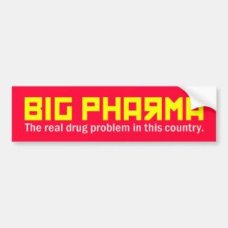 big pharma bumper sticker