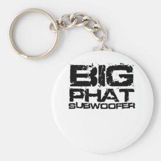 Big Phat Subwoofer Dubstep Keychains