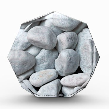 Beach Themed Big pile of gray and white stones from the beach award