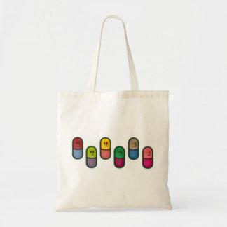 big pills tote bags