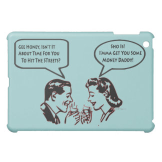 Big Pimpin' Retro Humor (Teal) iPad Mini Covers