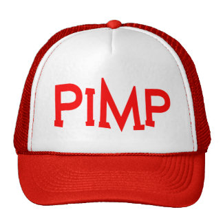 Big pimpin' trucker cap trucker hat
