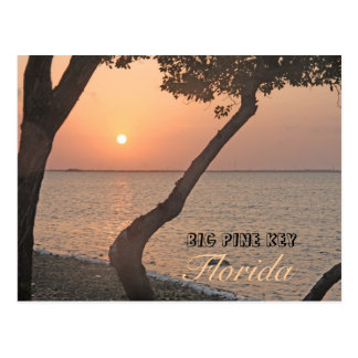 Big Pine Key Sunrise Postcard