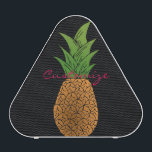 """Big Pineapple hunder_Cove Bluetooth Speaker<br><div class=""""desc"""">personalize by changing to your name,  a pineapple on any color background</div>"""