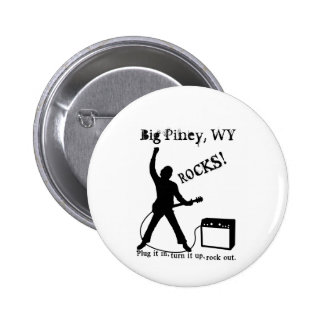 Big Piney, WY 2 Inch Round Button