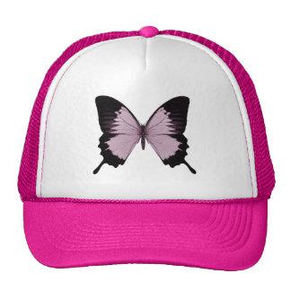 Big Pink & Black Butterfly - Personalize Trucker Hat