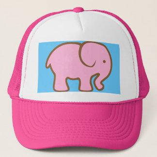 Big Pink Elephant Trucker Hat