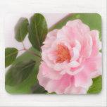 big pink flower alfombrilla de ratón