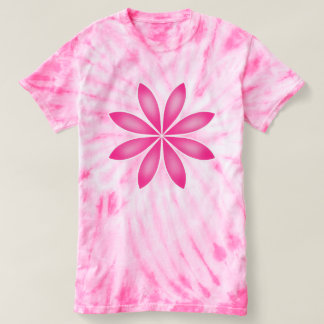 Big pink flower t-shirt