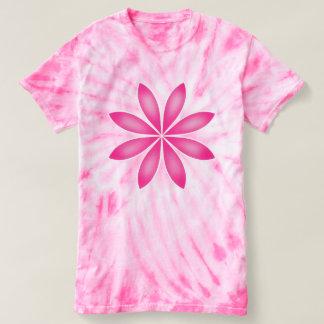 Big pink flower t-shirt