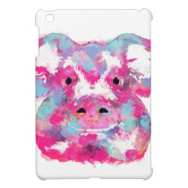 Big pink pig dirty ego iPad mini case