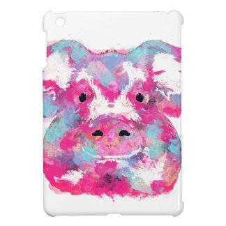 Big pink pig dirty ego iPad mini case
