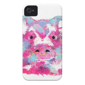 Big pink pig dirty ego iPhone 4 cover